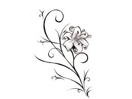 Small Picture Flower Designs To Draw Easy The Most Beautiful Flower 2017