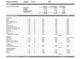 bathroom remodel project plan. Bathroom Estimate Template Remodel Project Plan D