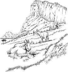 There is a mix of difficulty, from cute pictures for toddlers and preschoolers to more detailed designs for older. Detailed Landscape Coloring Pages For Adults Part 3