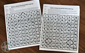 Interactive 100 Chart Free Back To School Interactive Hundreds Chart Kindergarten