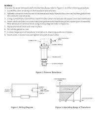 pressure transmitter connection diagram pressure omega px541 series pressure transducer datasheet pressure sensor on pressure transmitter connection diagram