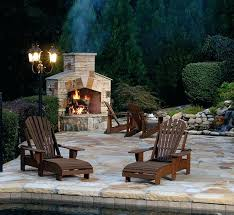 stone outdoor fireplaces backyard stone fireplace designs