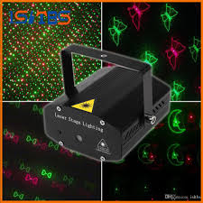 Laser Star Light Red Green Portable Laser Stage Lights Red Green Color Multi All Sky Star Lighting Mini Dj Laser For Christmas Party Home Wedding Club Projector Laser