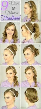 Headband Hair Style 25 best headband hairstyles ideas headband updo 5460 by wearticles.com