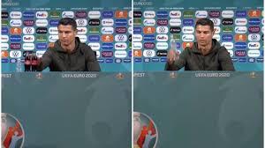 Perché Cristiano Ronaldo ha nascosto la Coca Cola in conferenza stampa con  il Portogallo: