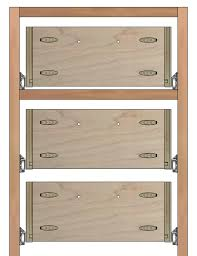 Kitchen Cabinet Fasteners How To Build Drawer Boxes With Pocket Screws Tom Builds Stuff