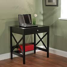 tms furniture transitional black writing desk
