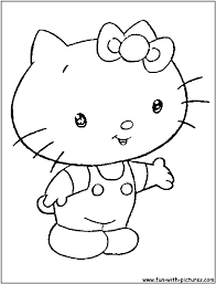 Small Picture Coloring Pages Hello Kitty Coloring Pages Coloring Pages Of Santa