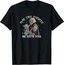 Star Wars May The Fourth Be With You Stamp T-Shirt (April 2020 UPDATED)