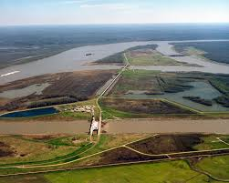Army Corps Of Engineers Lower Mississippi River Navigation Charts Old River Control Structure Wikipedia