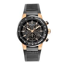 paris gallery salvatore ferragamo salvatore ferragamo salvatore ferragamo f55lcq75909 s113 mens f80 black dial strap watch