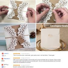Sample Of Weeding Invitation Us 5 5 Wedding Invitations Vintage Invitation Sample Kraft Paper Wedding Cards Sample With Name Tag In Cards Invitations From Home Garden On