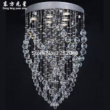 crystal chandelier light silver lamp base hanging crystal lighting with