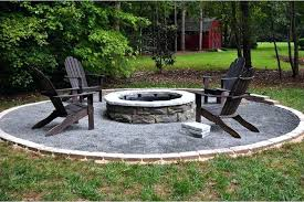 outdoor stone fire pit ideas homemade with rocks rock pits for