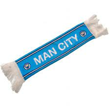 Manchester City Mini Car Scarf MC-G105