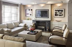 Modern Living Room Ideas With Fireplace And Tv Intended Simple