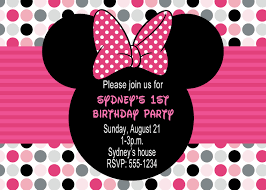 minnie mouse birthday party invitations invitations design this invitation design help people about minnie mouse invitation minnie mouse birthday invitation templates minnie mouse birthday invitation cards