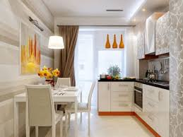 Small Kitchen with Dining Area Design