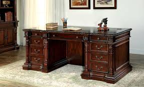 Eastpointe Executive Desk in Cherry
