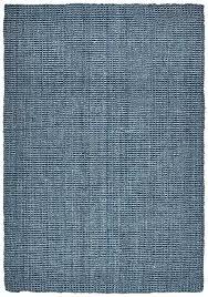 jute rug navy rugs bark natural organic 8x10 chunky wool