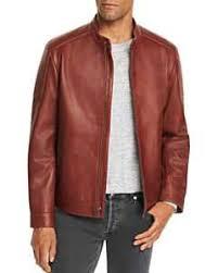 Superdry Mens Jacket Size Chart Superdry New Hero Leather Racer Jacket Bloomingdales