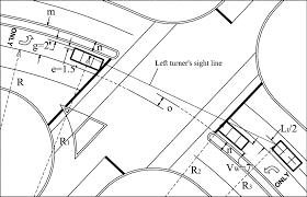 Geometric models to calculate left turn sight distance for signalized intersections on horizontal curves journal of transportation engineering vol 132