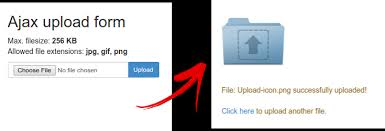 Ajax File Upload Php Jquery Tutorial Embit Solutions