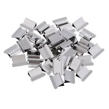 Paper Holder Clips 40 Pcs Refill Clips Paper Clips Push Clamps Trumpet Paper Holder