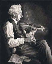 Image result for old man playing violin