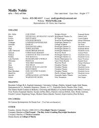 Theatrical Director Resume Theatre Director Resume Gallery Creawizard 11