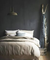 Behang Slaapkamer Gamma Eigentijdse Zwarte Slaapkamer Klasieke