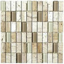glass stone mosaic tile share this glass and stone mosaic tile installation