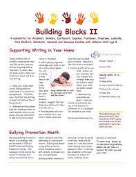 october newsletter ideas family newsletters pace child care works