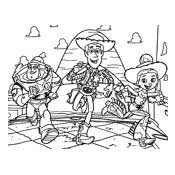 Kleurplaat Toy Story Pixar 1608