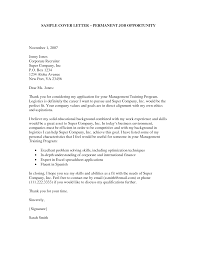 Ideas Of How To Write A Letter For Job Opportunity Sample Cover