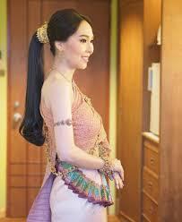 ทรงผมเจาสาวชดไทย หางมา Weddingreview