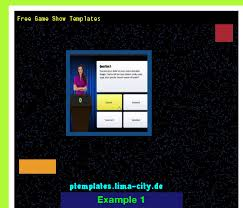Powerpoint Game Show Template Free Game Show Templates Powerpoint Templates 13475 The Best
