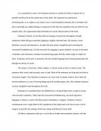 into thin air style essay zoom zoom