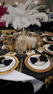 Masquerade Ball Decorations Centerpieces Roaring 100s centerpieces Perfect for a Great Gatsby birthday 91