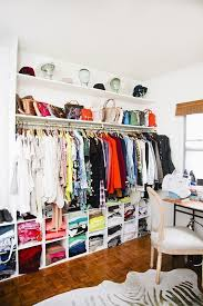 how to create and organize your dream closet