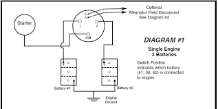 correct connection for 4 way battery switch cruisers & sailing perko battery switch wiring at Boat Battery Switch Wiring Diagram