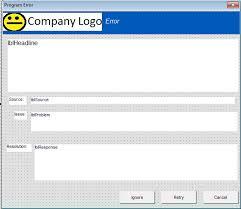 Properly Handling Errors In Vba Excel Stack Overflow