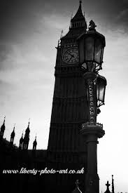 big view photography. Elaborate Street Lights Of Westminster Bridge With The Iconic Gothic Revival Clocl Tower, Elizabeth Big View Photography