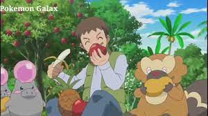 Pokemon Ash Goomy Evolve into Sliggo XY Kalos Quest Episode 14 pokemon  season 18 latest - YouTube