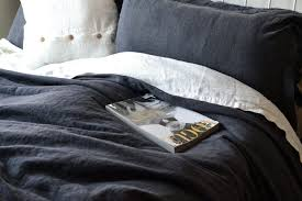 bedspread peppercorn heavy weight rustic linen duvet cover dark gray sheets fullxfull zoom bedding sets queen size cotton twin sheet comforter single deep