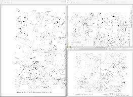 Free Star Chart An Elegant Star Atlas For A More Civilized Age Free Mag7