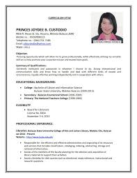 How To Make A Resume For First Job Experience Resumes