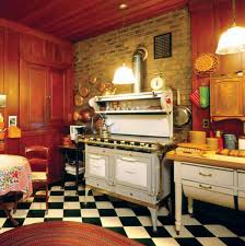 Checkerboard Kitchen Floor Photo Gallery Checkerboard Kitchen Floors Old House Restoration
