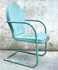 vintage iron patio furniture. Surprising Vintage Iron Patio Furniture Retro Metal Lawn Chair Teal Rustic Porch . N