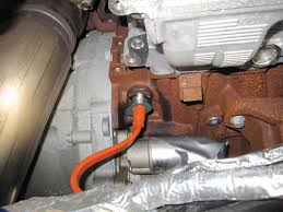 engine block heater install ford diesel forum 2011 engine block heater install cord plugged jpg